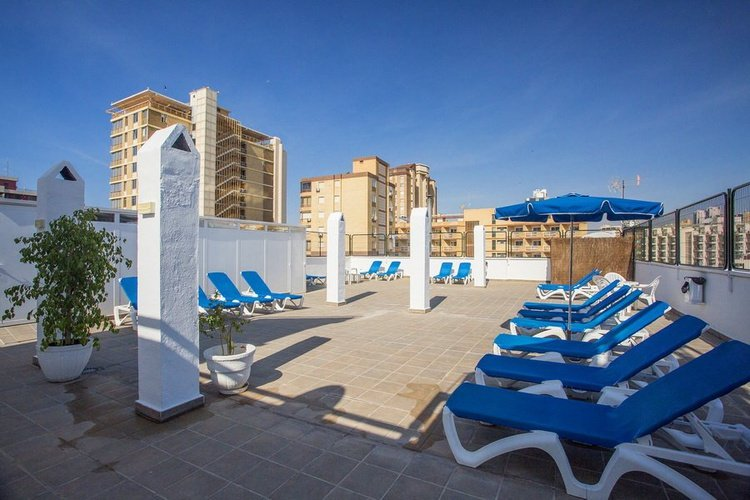 Terraza Hotel Magic Villa Benidorm Benidorm