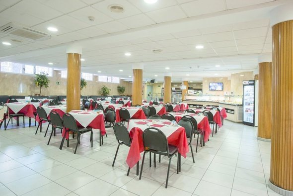 Restaurante buffet hotel magic villa benidorm