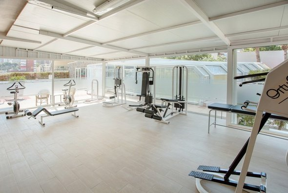 Gimnasio hotel magic villa benidorm